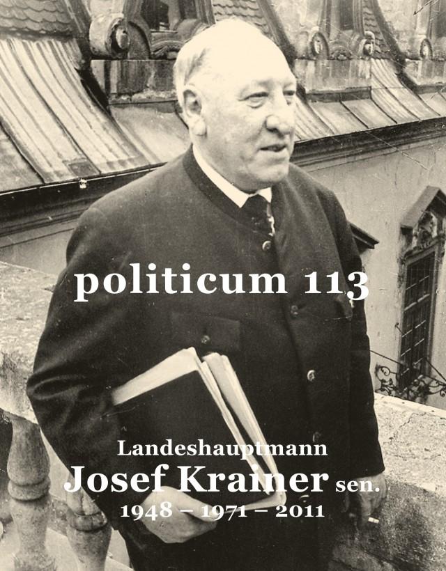nr. 113: Landeshauptmann Josef Krainer sen.