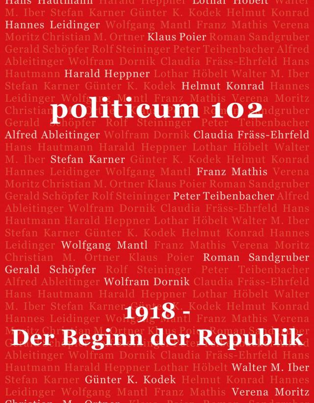 nr. 102: 1918 – Der Beginn der Republik