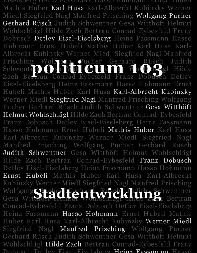 nr. 103: Stadtentwicklung