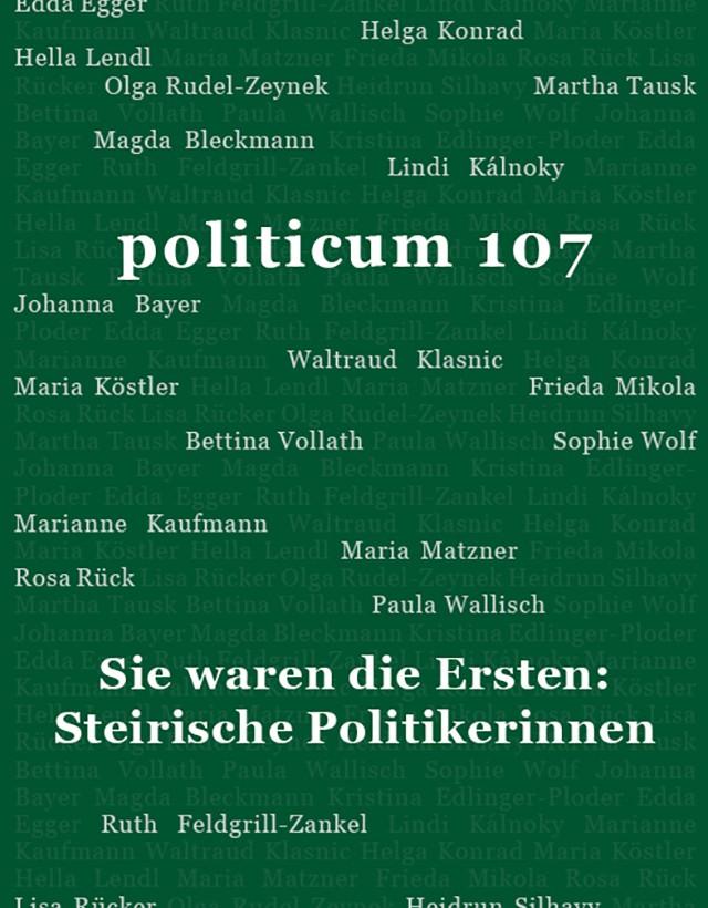 nr. 107: Sie waren die Ersten: Steirische Politikerinnen