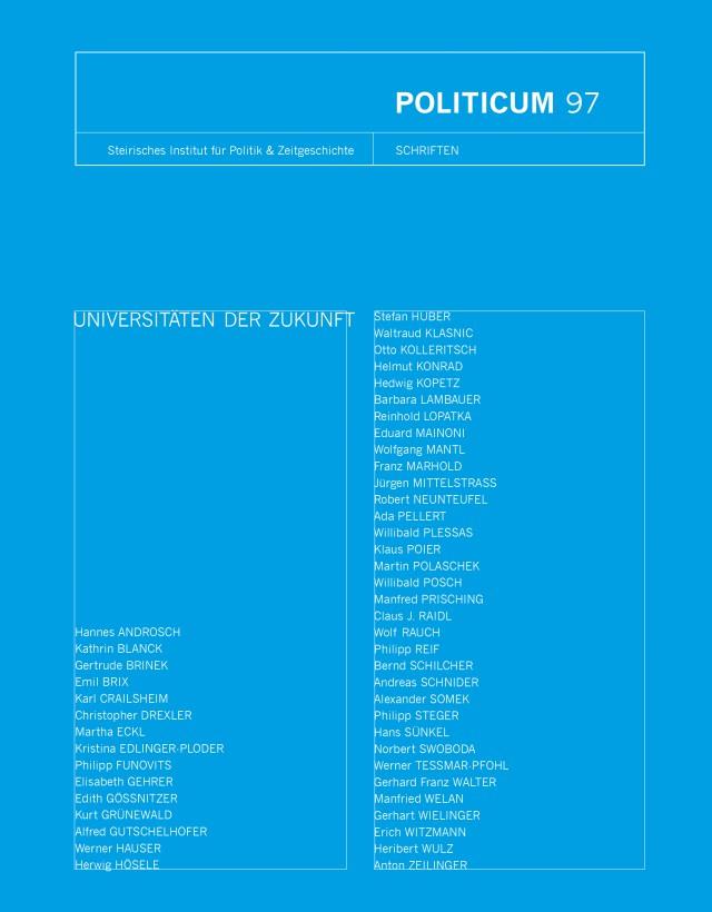 nr. 97: Universitäten der Zukunft